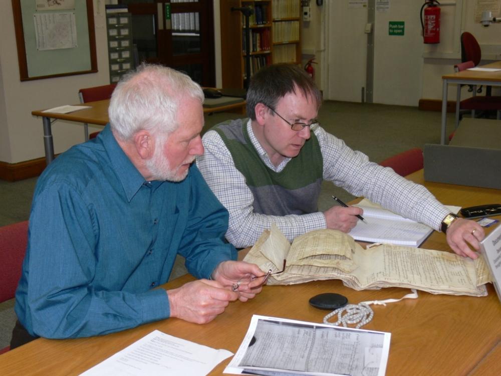 David and Peter Foden at HALS 30.3.10